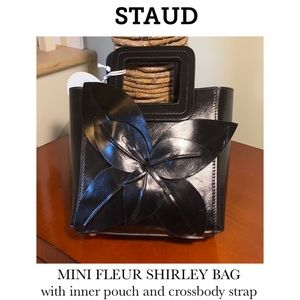 STAUD mini Shirley bag with inner pouch